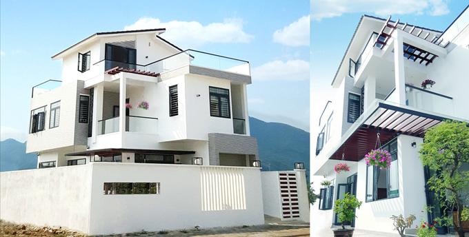 Phối cảnh kiến trúc mẫu nhà biệt thự đẹp mini 90m2 dành cho 6 người