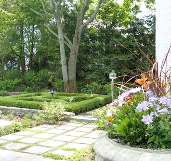 Mẫu nhà đẹp biệt thự vườn xanh ngát với tiểu cảnh sân vườn ấn tượng - 07