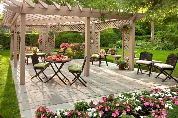 Mẫu nhà đẹp biệt thự vườn xanh ngát với tiểu cảnh sân vườn ấn tượng - 04