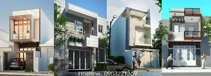 Tổng hợp mẫu bản vẽ nhà phố 2 tầng mặt tiền 3m 4m 5m chuẩn kỹ thuật
