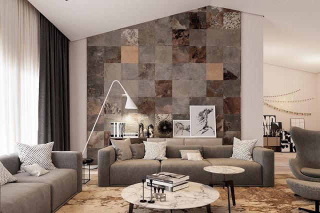 Thiết kế nội thất phòng khách và 5 cách tạo điểm nhấn bạn nên biết - 4