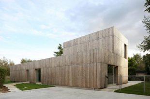 Cái nhìn hiện đại cho biệt thự đẹp ốp gỗ