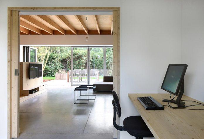 Cái nhìn hiện đại cho biệt thự đẹp ốp gỗ 10