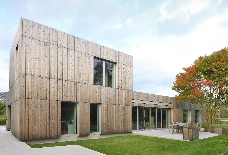 Cái nhìn hiện đại cho biệt thự đẹp ốp gỗ 2