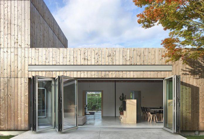 Cái nhìn hiện đại cho biệt thự đẹp ốp gỗ 3