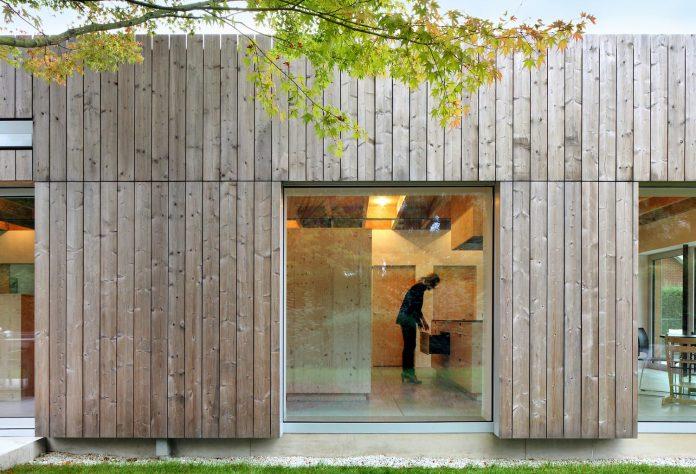 Cái nhìn hiện đại cho biệt thự đẹp ốp gỗ 4