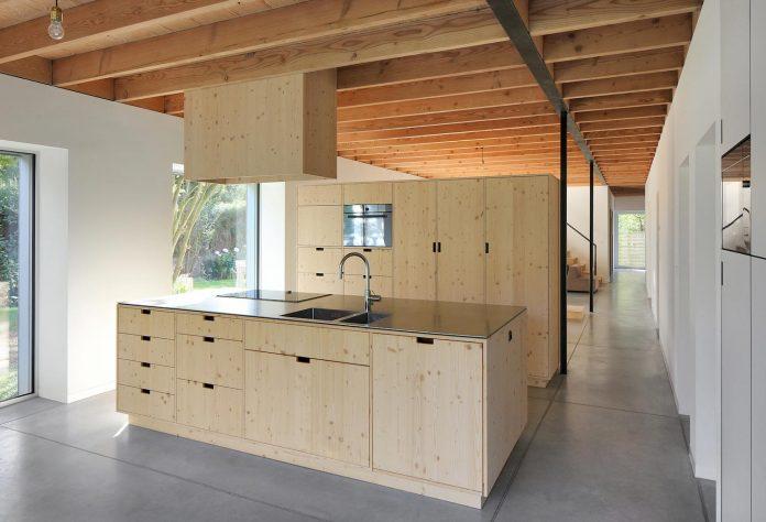Cái nhìn hiện đại cho biệt thự đẹp ốp gỗ 7