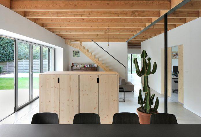 Cái nhìn hiện đại cho biệt thự đẹp ốp gỗ 9