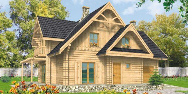Thiết kế mẫu nhà cấp 4 đẹp 11x13,5m có gác mái mộc mạc - 1