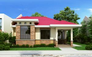 Thiết kế mẫu nhà cấp 4 đẹp 3 phòng ngủ diện tích 11x12m - 02