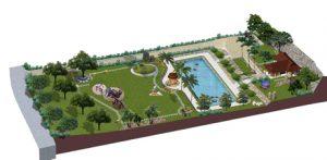 Mẫu thiết kế sân vườn tiểu cảnh nhà biệt thự đẹp đáng sống