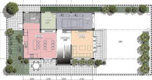 Thiết kế nhà biệt thự đẹp 3 tầng rộng 300m2 hiện đại cao cấp với các không gian tiện nghi - mb1