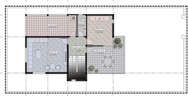 Thiết kế nhà biệt thự đẹp 3 tầng rộng 300m2 hiện đại cao cấp với các không gian tiện nghi - mb3