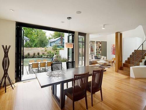 Không gian phòng bếp ăn - Thiết kế nhà đẹp biệt thự lắp ghép thông minh cao 2 tầng