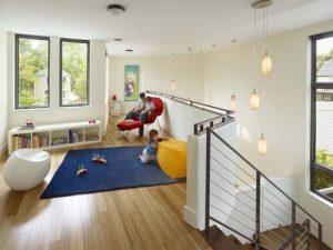 Không gian phòng ngủ trẻ nhỏ - Thiết kế nhà đẹp biệt thự lắp ghép thông minh cao 2 tầng