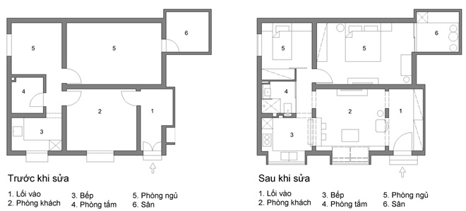 Giới thiệu công trình cải tạo không gian nội thất nhà ống đẹp ở Hà Nội - 8