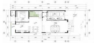 Nhà biệt thự 2 tầng đẹp hiện đại nhẹ nhàng giản dị - 2