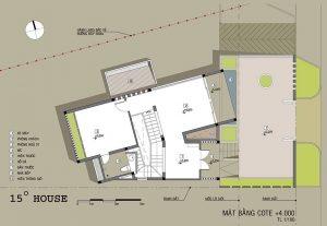 Công năng tầng 2 thiết kế nhà phố đẹp 2 tầng lạ mắt phong cách hiện đại