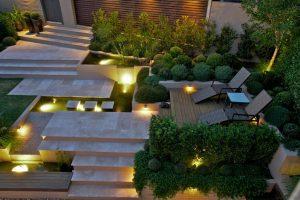 Thiết kế sân vườn tiểu cảnh đẹp mắt - 2