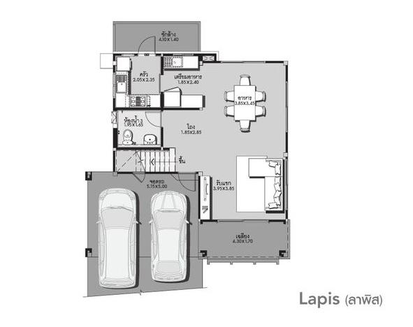 Mẫu biệt thự 2 tầng kết hợp sân vườn ấn tượng-02