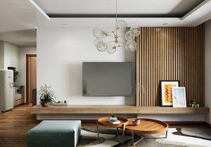 Thiết kế nội thất phòng khách trong căn nhà phố đẹp- Ảnh 01