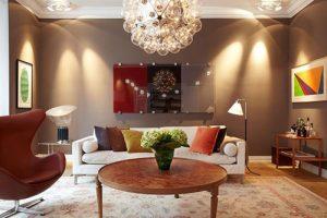 Thiết kế nội thất phòng khách trong căn nhà phố đẹp- Ảnh 05