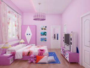 Tư vấn thiết kế nội thất phòng ngủ trẻ em- Ảnh 01