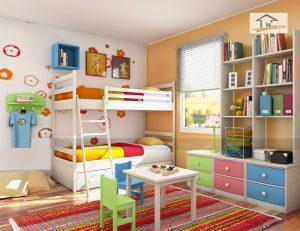 Tư vấn thiết kế nội thất phòng ngủ trẻ em- Ảnh 04