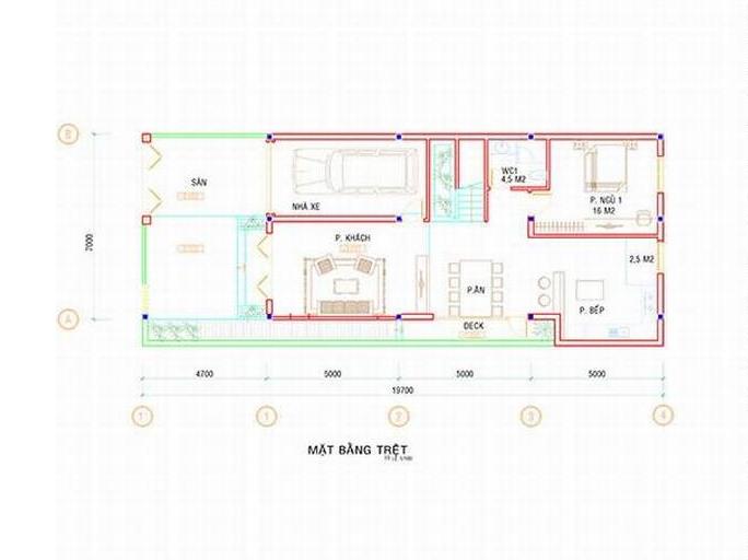Biệt thự 3 tầng đẹp diện tích 7x19.5m-03