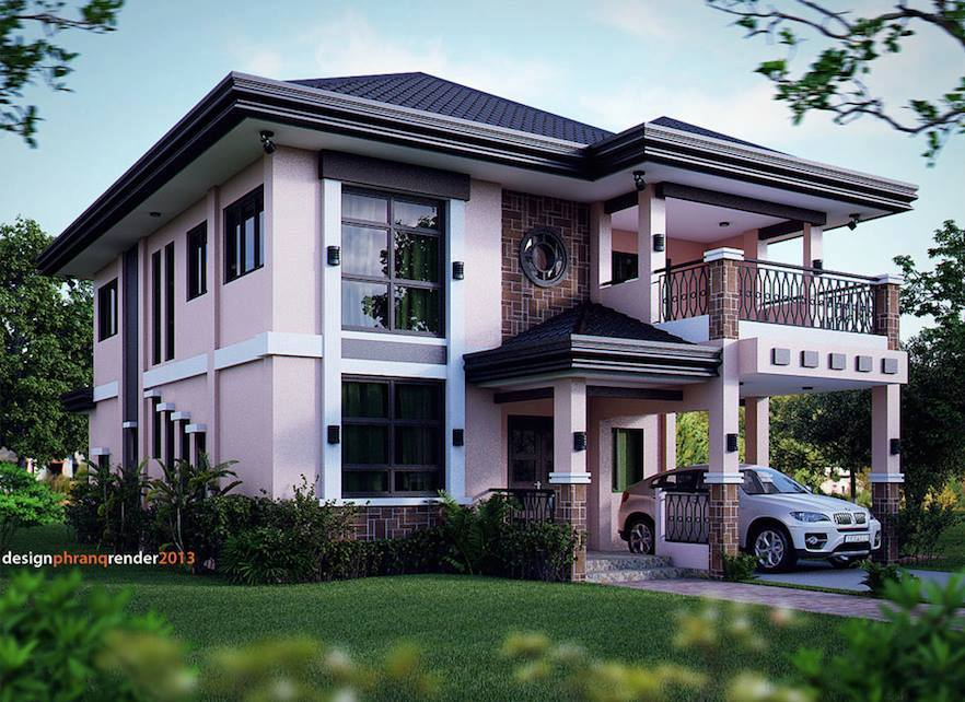 Mẫu nhà biệt thự đẹp hiện đại nhất 2017. 2