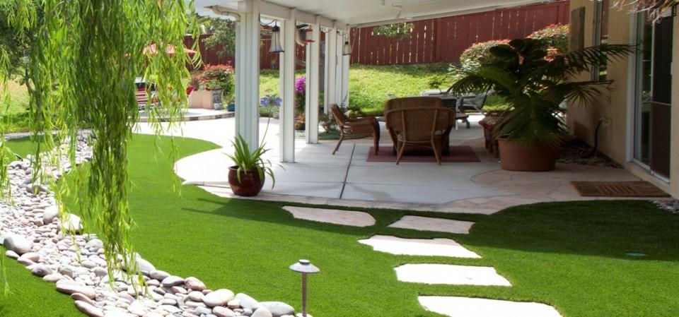 Thiết kế sân vườn tiểu cảnh theo phong cách hiện đại 1