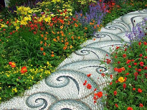 Thiết kế lối đi cho mẫu sân vườn đẹp - 3