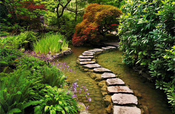 Thiết kế lối đi cho mẫu sân vườn đẹp - 2