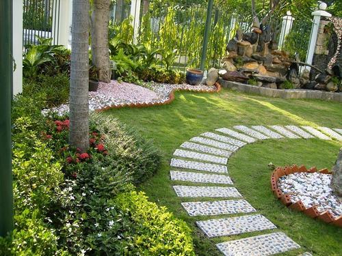 Thiết kế tiểu cảnh sân vườn theo phong thủy - 1