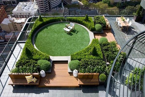 Thiết kế tiểu cảnh sân vườn theo phong thủy - 2
