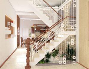 Những mẫu cầu thang đẹp cho nhà ống.07