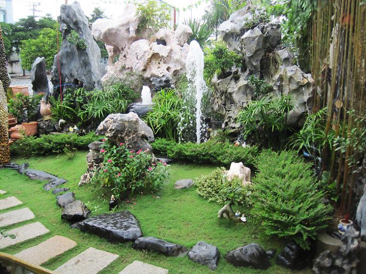 Trang trí tiểu cảnh sân vườn đẹp cho ngôi nhà - 3