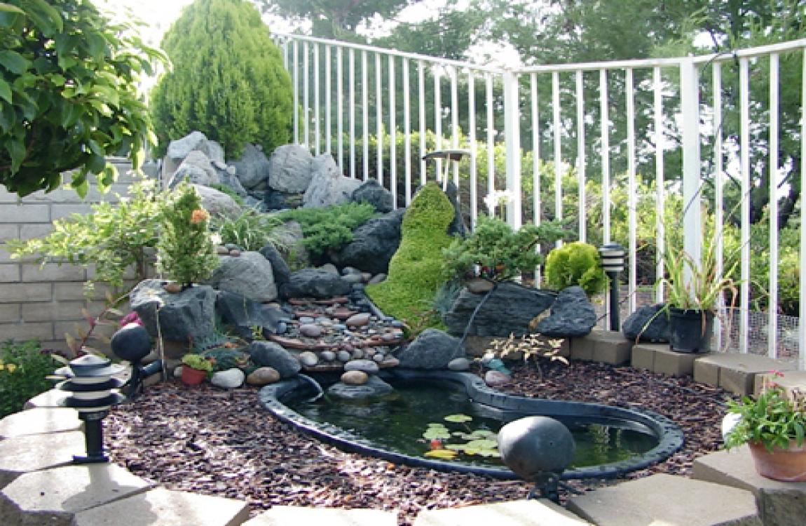 Trang trí tiểu cảnh sân vườn đẹp cho ngôi nhà - 4