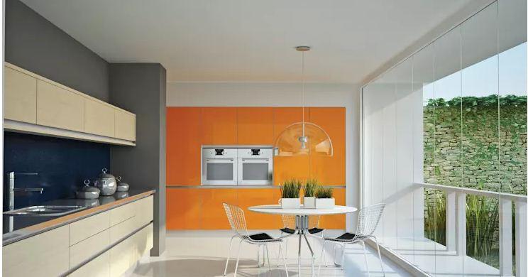 căn bếp hiện đại trong không gian nhà đẹp. 2