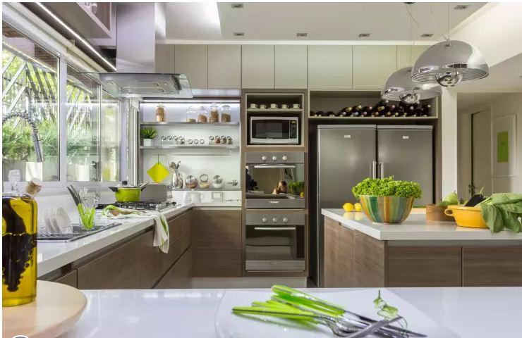 căn bếp hiện đại trong không gian nhà đẹp. 5