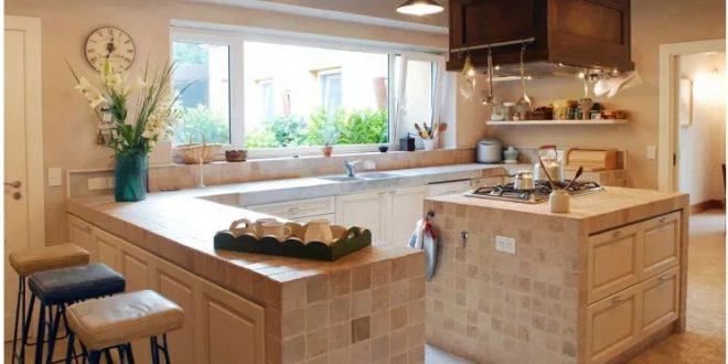 căn bếp hiện đại trong không gian nhà đẹp