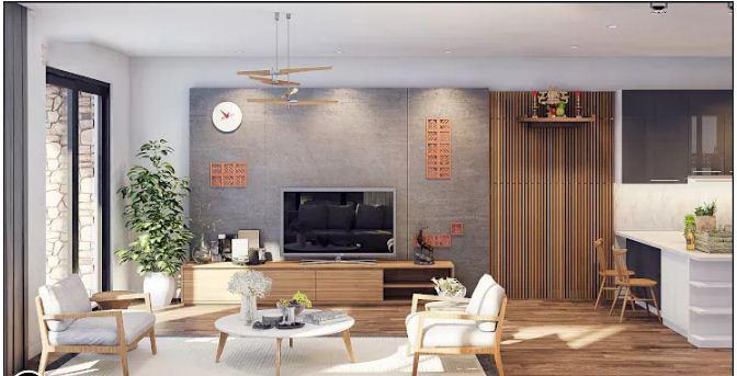 Thiết kế biệt thự vườn cực đẹp tại Hà Đông. 5