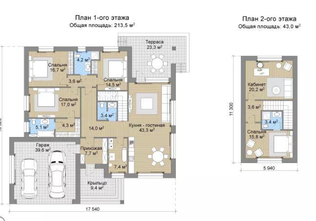 Biệt thự 2 tầng sang trọng kiến trúc châu âu. 1