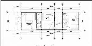 Nhà ống 2 tầng hiện đại 5x16m giá rẻ. 3