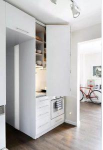 Sáng tạo không gian bếp cho nhà ống hiện đại. 3