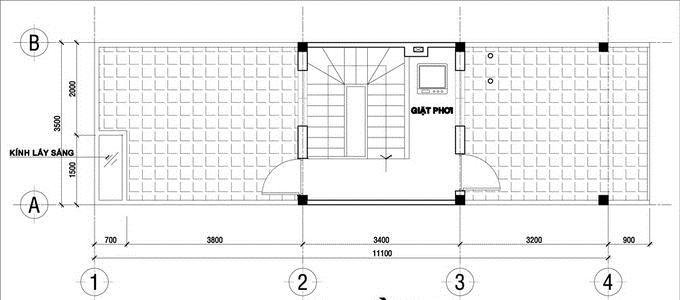 Thiết kế nhà ống 3 tầng hiện đại chi phí 640 triệu. 4