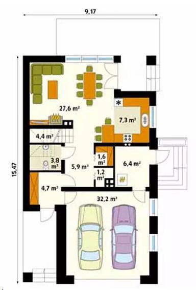 4 mẫu thiết kế nhà đẹp hiện đại ấn tượng. 11