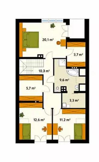4 mẫu thiết kế nhà đẹp hiện đại ấn tượng. 12