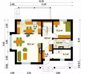 4 mẫu thiết kế nhà đẹp hiện đại ấn tượng. 15