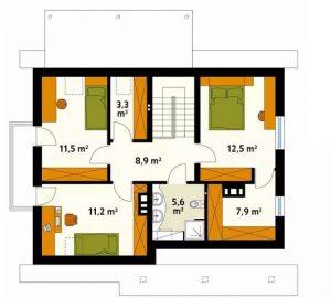 4 mẫu thiết kế nhà đẹp hiện đại ấn tượng. 16